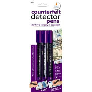 Cathedral Counterfeit Detector Pen (Black)