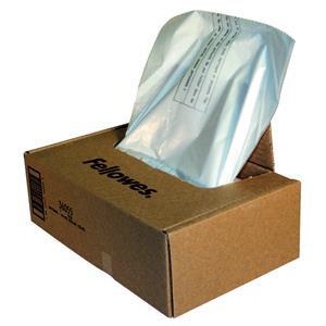 Fellowes Powershred Waste Bags (1 x Box of 50 Bags) for C-380 Series Shredders
