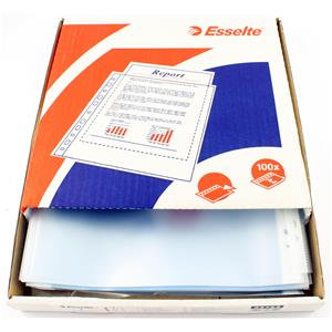 Esselte Clear Embossed Pocket Clear