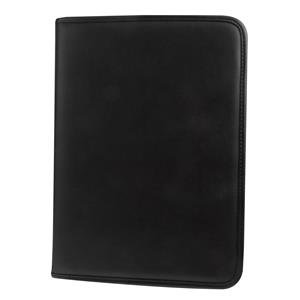 Monolith Conference Zipped Ringbinder Folder (A4) with Pad Clip (Black)
