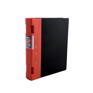Guildhall GL Ergogrip Binder Capacity 400 Sheets 4x 2 Prong 55mm A4 Red
