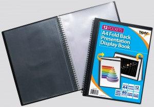 Tiger A4 Fold Back Display Book