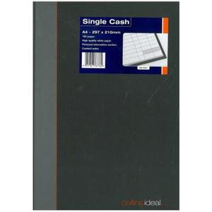 Collins Ideal 6421 Book A4 Single Cash 192 Pages
