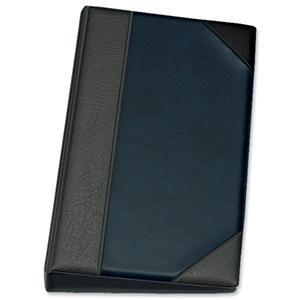 Goldline De Luxe Business Card Binder PVC A-Z Index 64 Pockets
