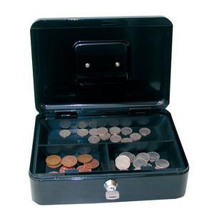 Value 30cm (12 Inch) Key Lock Metal Cash Box
