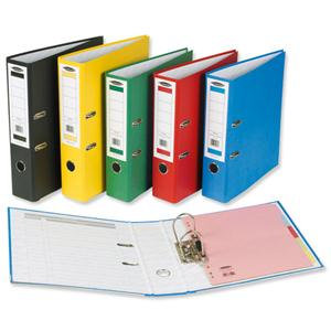 Concord Centurion (Foolscap) Lever Arch File Printed Lining Capacity 70mm