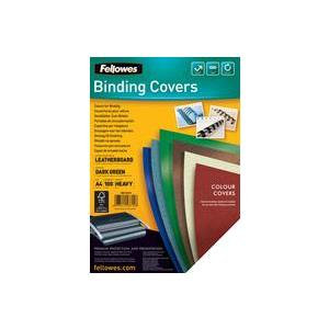 Fellowes FSC A4 Delta Cover Dark Green