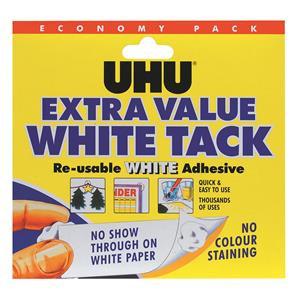 UHU White Tack Economy Pack