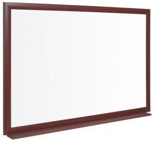 Bi-Office Earth-It (900x600mm) Drycase Board Non-Magnetic Oak Frame DD