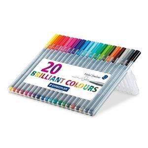 Staedtler Triplus Fineliner 334 (0.3mm) Fineline Pens (Assorted Colours)