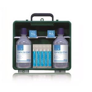 Crest Medical Eye Wash Double Cabinet Complete