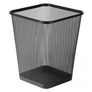 Osco (29cm) Wire Mesh Square Waste Bin Regular
