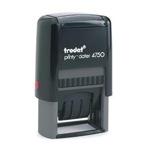 Trodat Printy Dater 4750/L1/L2 Stamp / Pack of 1