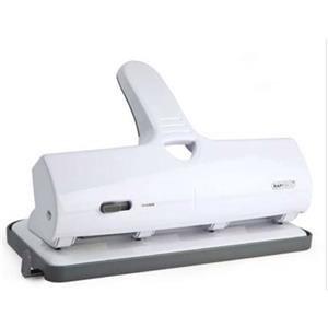 Rapesco ALU 40 Heavy Duty 4 Hole Punch (White)