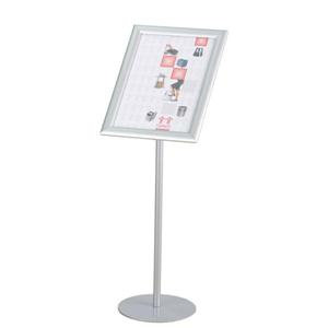 Twinco (A3) Twin Agenda Rotating Floor Stand Literature Display with Snapframe