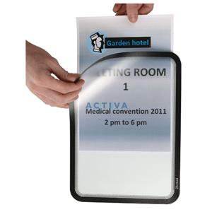 Tarifold Magneto SOLO (A4) Magnetic Display Frame (Black)
