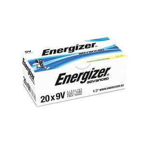 Energizer Advanced (9V) Alkaline Batteries