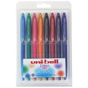 Uni-Ball Signo UM-170 Gelstick Rollerball Pen L-0.4mm T-0.7mm / Assorted