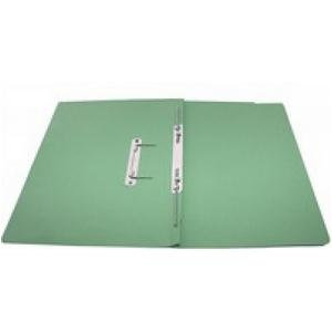 Rexel Jiffex Foolscap Transfer File Green / Pack of 50