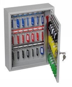 Phoenix Commercial Key Cabinet 42 Hook with Key Lock.