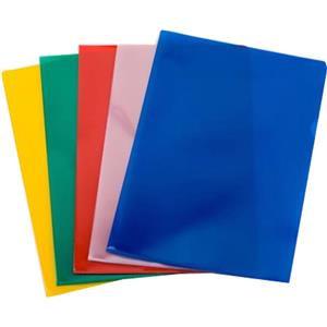 ProOffice (A4) Value Cut Flush Folder (Assorted: Blue, Red, Green, Yellow)