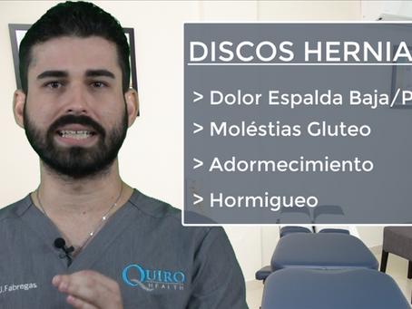 ¿Qué son los Discos Herniados?