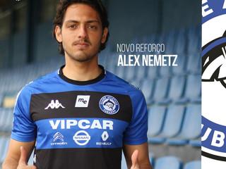 Alex Nemetz está de volta ao Tubarão