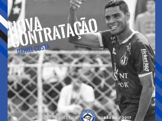 Tubarão contrata Rafael Ratão e Daniel Costa para a Série A do Catarinense