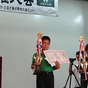 全沖縄珠算選手権大会 3・4年生の部       フラッシュ暗算競技 優勝3連覇
