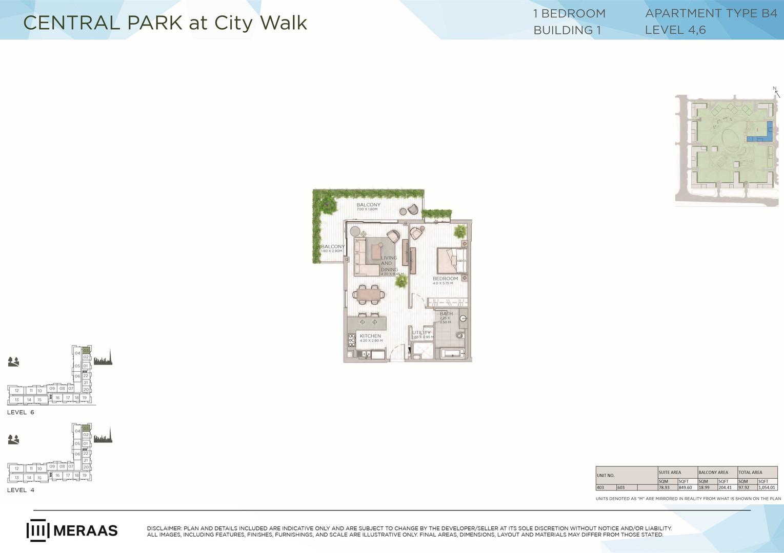 Central Park at City Walk _Floor Plans_8