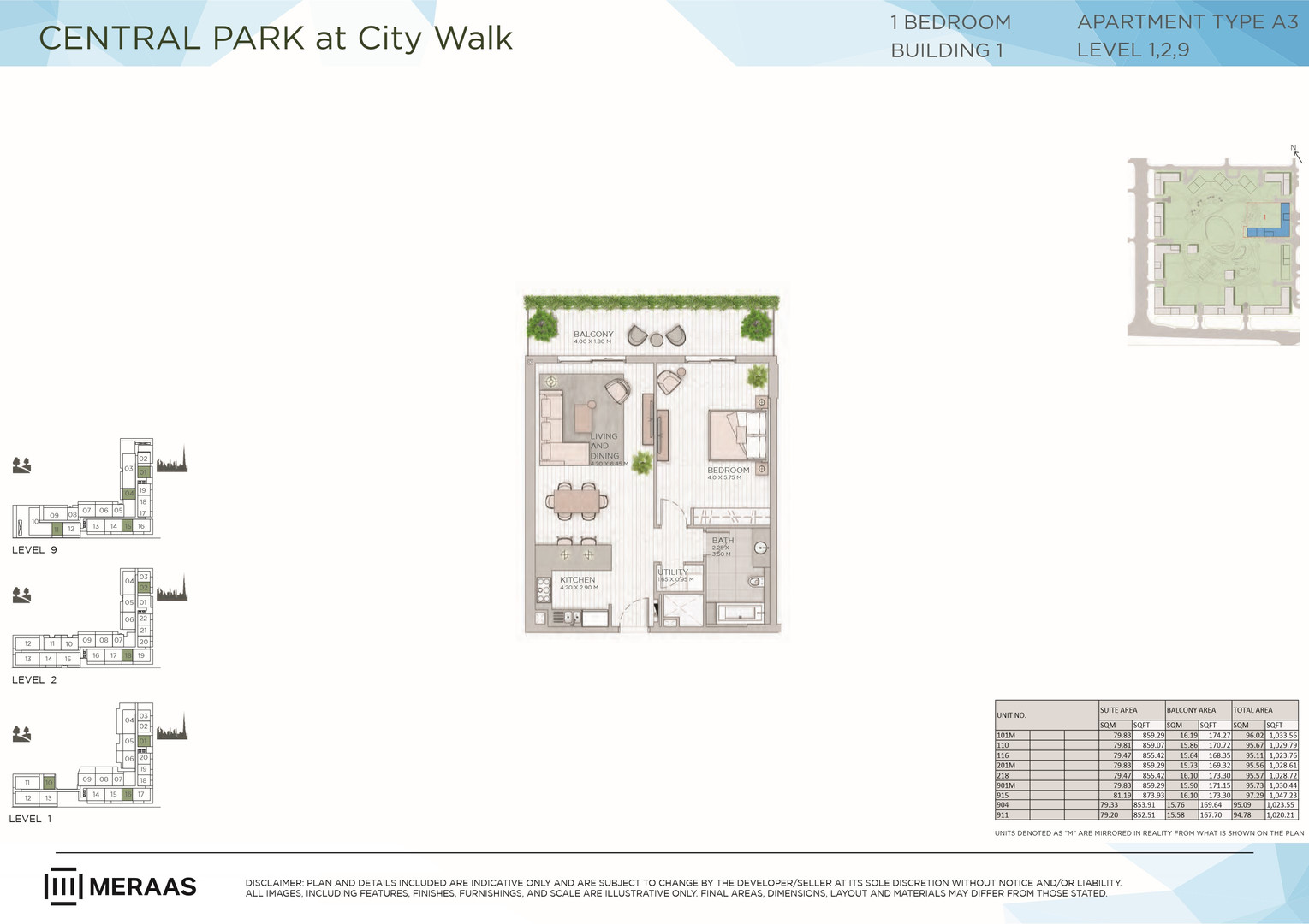 Central Park at City Walk _Floor Plans_4