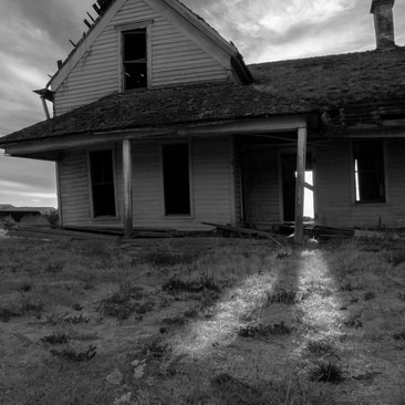 Homestead Still Glows Near McMinville, Oregon
