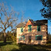 Old Farmhouse Near McMinville, Oregon