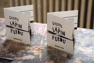 Identité Galerie du Lapin Perdu