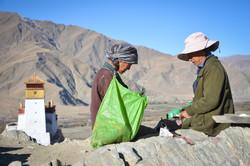 Ladies in Tibet