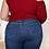 Thumbnail: One Shoulder Long-Sleeve Blouse