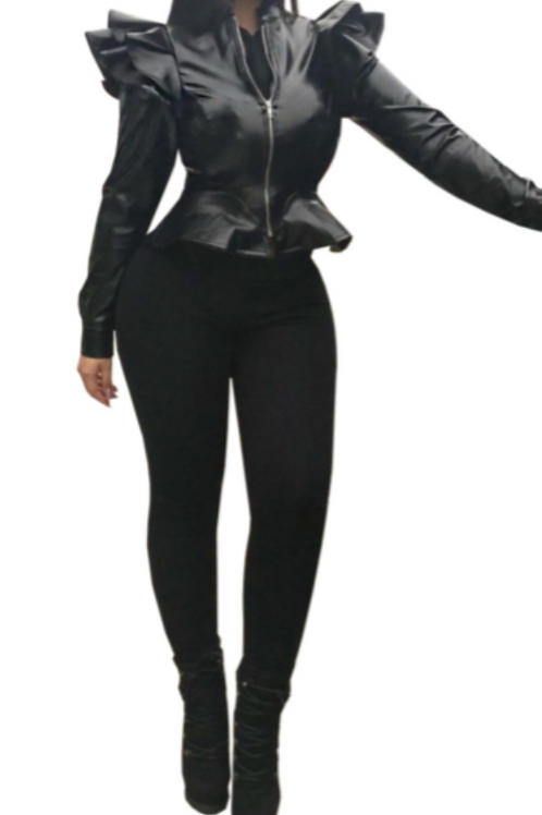 Vegan Leather Jacket