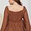 Thumbnail: Brown Beauty Shirring Blouse