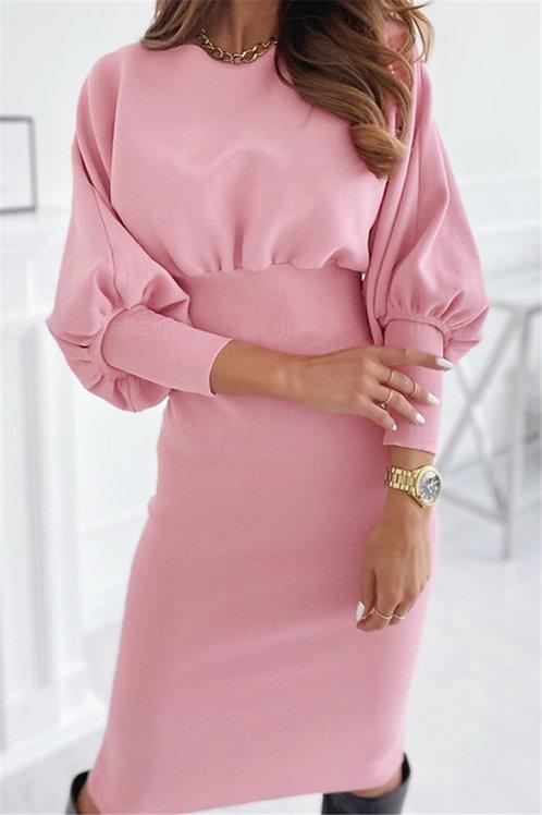 Victorian Sleeve Sweater Dress