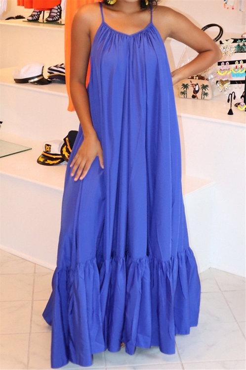 Summerfine Pleated Maxi Dress