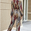 Thumbnail: Autumn Chiffon Long-Sleeve Jumpsuit