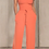 Thumbnail: Strapless Wide Leg Stretch Jumpsuit