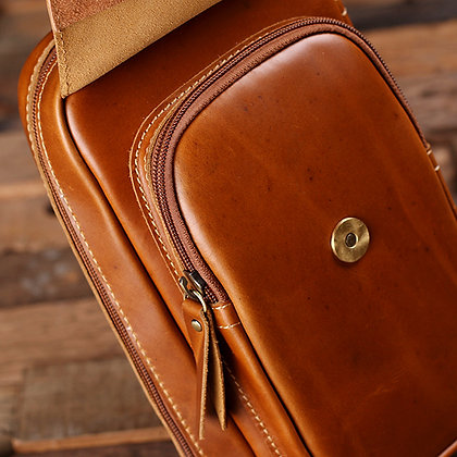 Tan Dopp Leather Kit