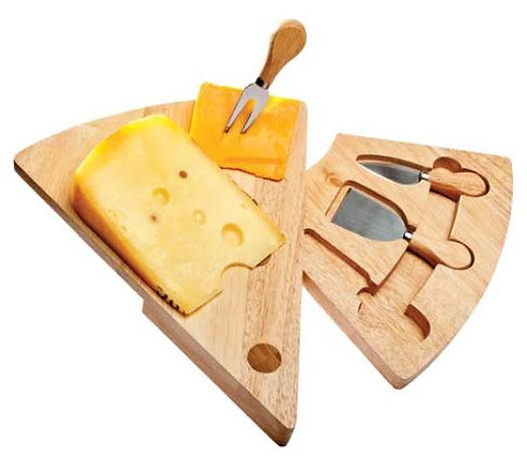 Swing Wedge 4 Pc Cheese Set