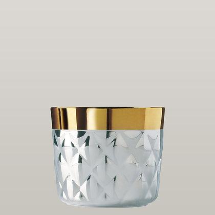 Platinum Gold Champagne Goblet