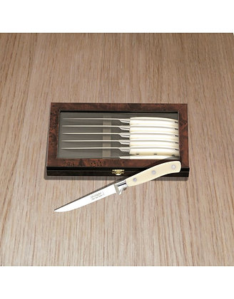 Chateaubriand Steak Knives - 6Pcs Box