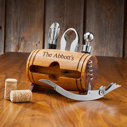 The Wine Barrel Set