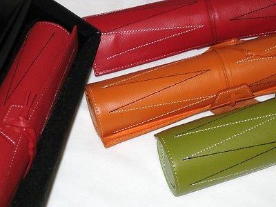 Deluxe Backgammon Leather Set