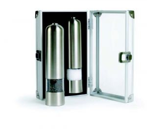 Electric Salt and Pepper Mill Combo