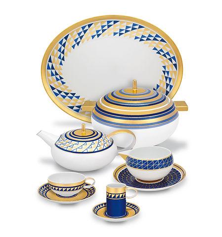 52 Pcs Nery Dinnerware Set